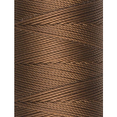 C-Lon Fine Weight Bead Cord, Chestnut - 0.4mm, 136 Yard Spool - Barrel of Beads