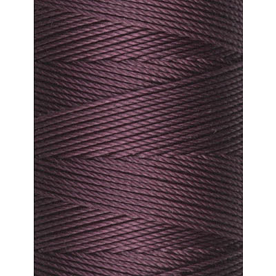 C-Lon Fine Weight Bead Cord, Eggplant - 0.4mm, 136 Yard Spool - Barrel of Beads