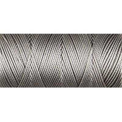 Gunmetal nylon fine weight bead cord