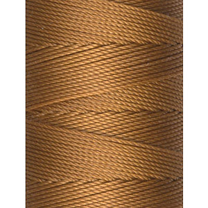 C-Lon Fine Weight Bead Cord, Gold - 0.4mm, 136 Yard Spool - Barrel of Beads