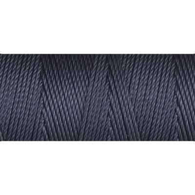 Navy Blue nylon fine weight bead cord