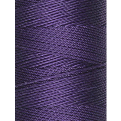 C-Lon Fine Weight Bead Cord, Purple - 0.4mm, 136 Yard Spool - Barrel of Beads