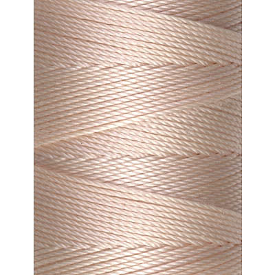 C-Lon Fine Weight Bead Cord, Sea Shell - 0.4mm, 136 Yard Spool - Barrel of Beads