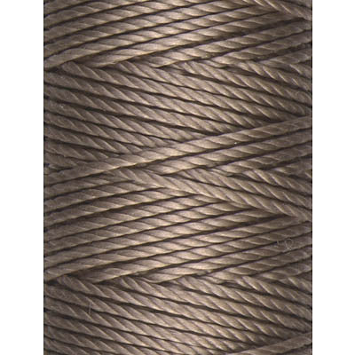 C-Lon Tex 400 Heavy Weight Bead Cord, Antique Brown - 1.0mm, 36 Yard Spool - Barrel of Beads