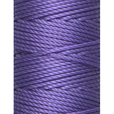 C-Lon Tex 400 Heavy Weight Bead Cord, Amethyst - 1.0mm, 36 Yard Spool - Barrel of Beads