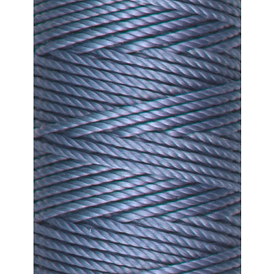 C-Lon Tex 400 Heavy Weight Bead Cord, Lt Blue - 1.0mm, 36 Yard Spool - Barrel of Beads