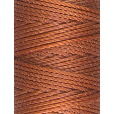 C-Lon Tex 400 Heavy Weight Bead Cord, Light Copper - 1.0mm, 36 Yard Spool - Barrel of Beads
