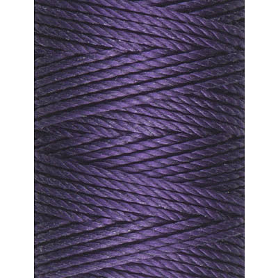 C-Lon Tex 400 Heavy Weight Bead Cord, Purple - 1.0mm, 36 Yard Spool - Barrel of Beads
