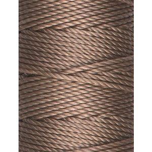 C-Lon Tex 400 Heavy Weight Bead Cord, Sable - 1.0mm, 36 Yard Spool - Barrel of Beads