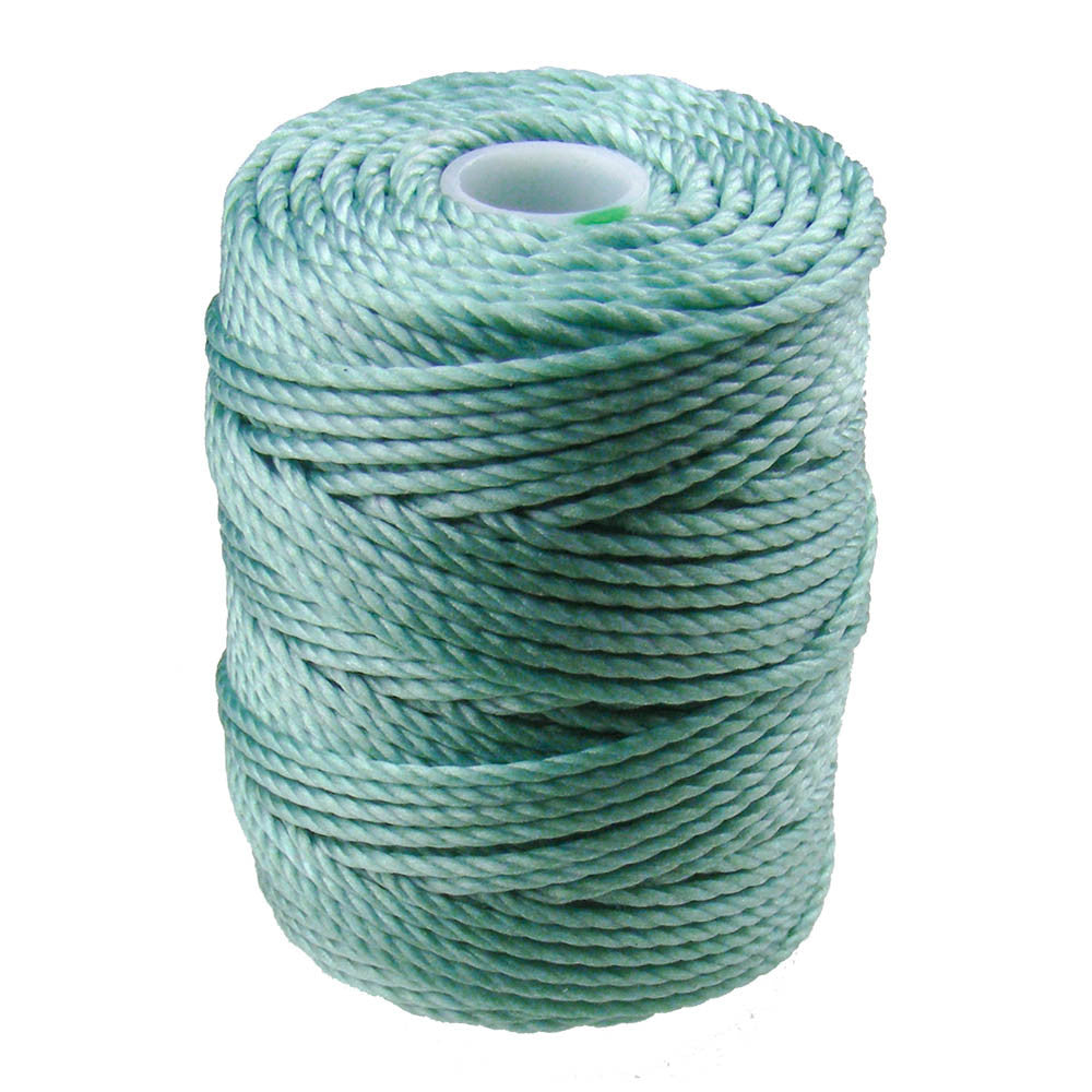 C-Lon Tex 400 Heavy Weight Bead Cord, Turquoise - 1.0mm, 36 Yard Spool - Barrel of Beads