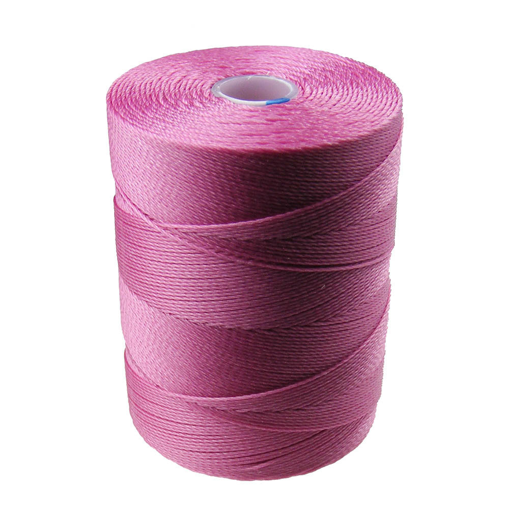 C-Lon Micro Bead Cord, Lt Orchid - 0.12mm, 320 Yard Spool - Barrel of Beads
