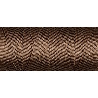 Medium Brown nylon micro bead cord