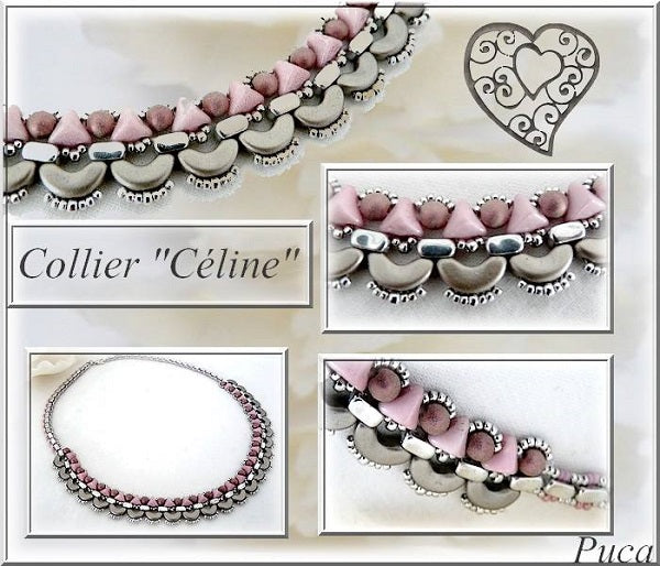 Celine Necklace - pattern