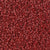 Miyuki Delica Bead 11/0 - DB0378 - Matte Metallic Brick Red - Barrel of Beads