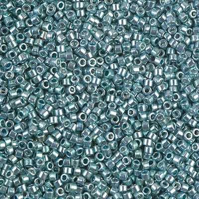 Miyuki Delica Bead 11/0 - DB0416 - Galvanized Sea Foam - Barrel of Beads