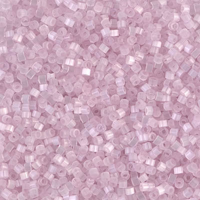 Miyuki Delica Bead 11/0 - DB0820 - Pale Rose Silk Satin - Barrel of Beads