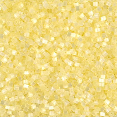 Miyuki Delica Bead 11/0 - DB0823 - Lemon Ice Silk Satin - Barrel of Beads