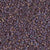 Miyuki Delica Bead 11/0 - DB0884 - Matte Opaque Dark Gray AB - Barrel of Beads