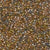 Miyuki Delica Bead 11/0 - DB0981 - Sparkling Lined Sand Dune Mix (gold beige aqua) - Barrel of Beads