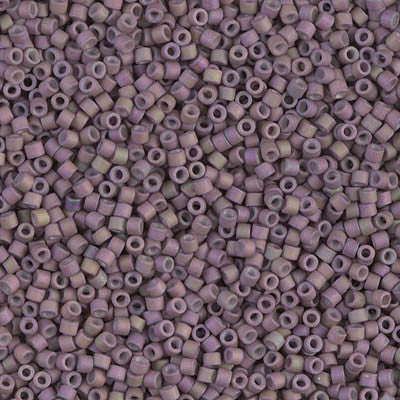 Miyuki Delica Bead 11/0 - DB1064 - Matte Metallic Orchid Gold Iris - Barrel of Beads