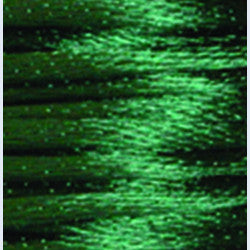 2mm Satin Rayon Rattail Cord, Dark Green, by the yard - Barrel of Beads