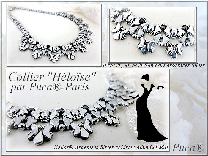 Heloise Necklace - pattern