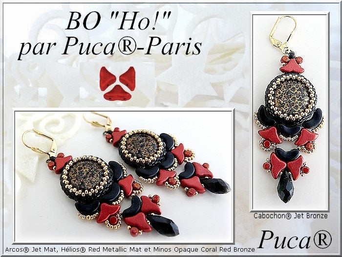 Ho Earrings - pattern