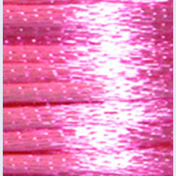 3mm Satin Rayon Rattail Cord, Light Pink, by the yard - Barrel of Beads