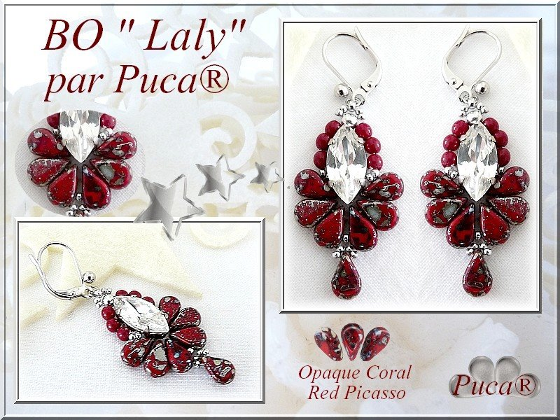 Laly Earrings - pattern