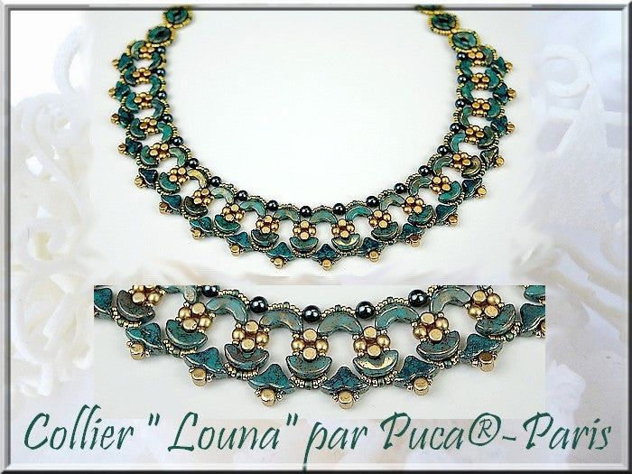 Louna Necklace - pattern