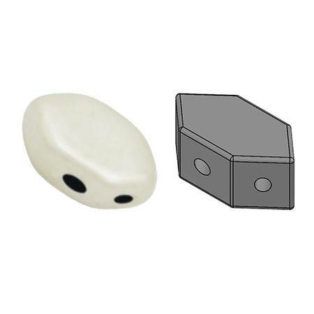 Paros® Par Puca®, PRS-0300-14400, Opaque White Ceramic Look