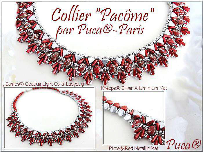 Pacome Necklace - pattern