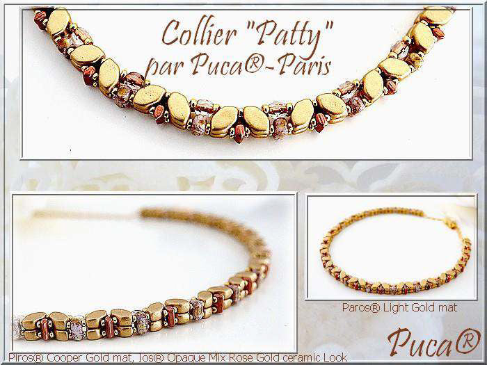 Patty Necklace - pattern