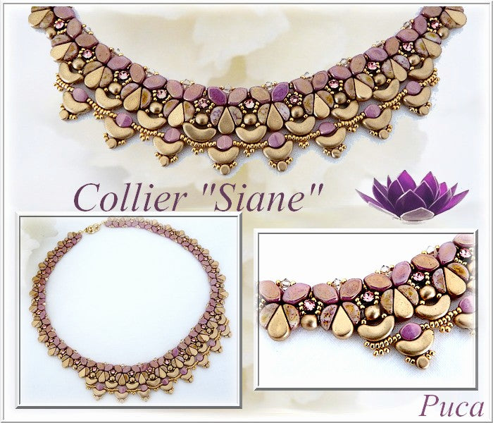 Siane Necklace - pattern
