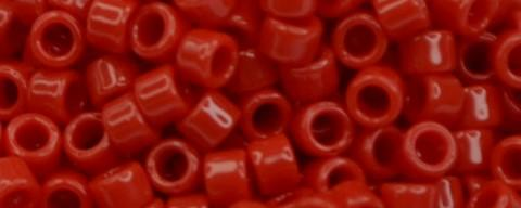 Toho Aiko Bead Opaque Cherry