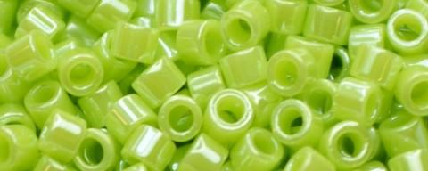 Toho Aiko Bead Opaque Luster Sour Apple