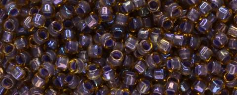 Toho Aiko Bead IC Light Topaz/Opaque Lavender Lined