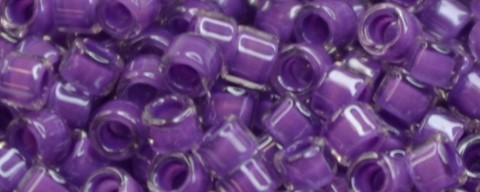 Toho Aiko Bead IC Crystal/Lilac Lined
