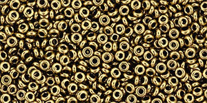 Toho Demi Round 11/0 Seed Bead, Bronze, TN-11-221 - Barrel of Beads