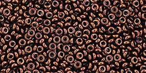 Toho Demi Round 11/0 Seed Bead, Bronze Dark Bronze, TN-11-222 - Barrel of Beads