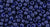 Toho 8/0 Round Japanese Seed Bead, TR8-2607F, Semi-Glazed Midnight Blue