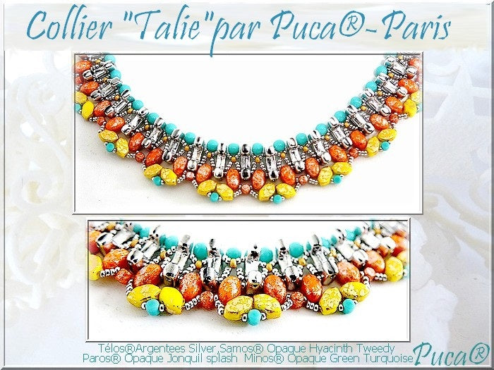 Talie Necklace - pattern