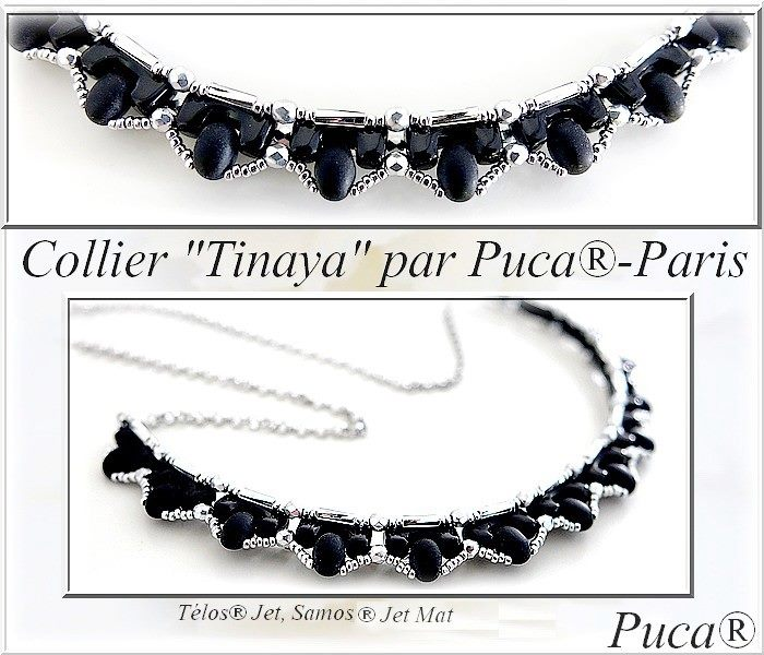 Tinaya Necklace - pattern