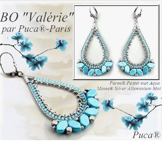 Valerie Earrings - pattern