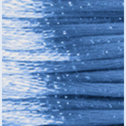 2mm Satin Rayon Rattail Cord, Williamsburg Blue, by the yard - Barrel of Beads