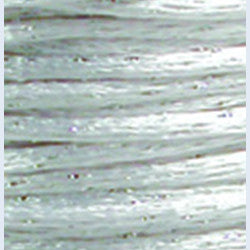 2mm Satin Rayon Rattail Cord, White, by the yard - Barrel of Beads
