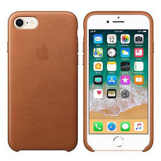 Apple Leather Case for iPhone 7/8 - Saddle Brown