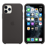 Apple Silicone Cover for iPhone 11 Pro - Black