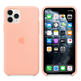 Apple Silicone Cover for iPhone 11 Pro - Grapefruit