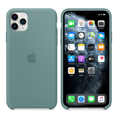 Apple Silicone Cover for iPhone 11 Pro Max - Cactus